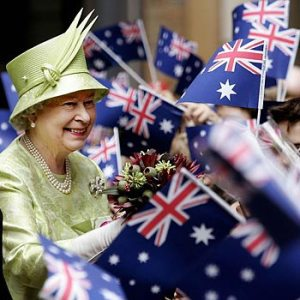 Queen Elizabeth on a State Visit to Australia