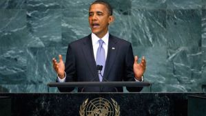President Barack Obama Addresses the United Nations