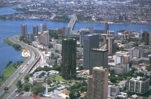 Abidjan, the Ivory Coast's largest city.