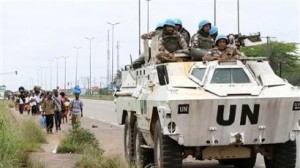 UN forces in the Ivory Coast.