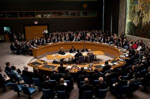 President Barack Obama chairs a meeting of the UN Security Council, September 24, 2009.